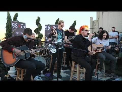 My Chemical Romance  Helena  Acoustic at 987FM Penthouse