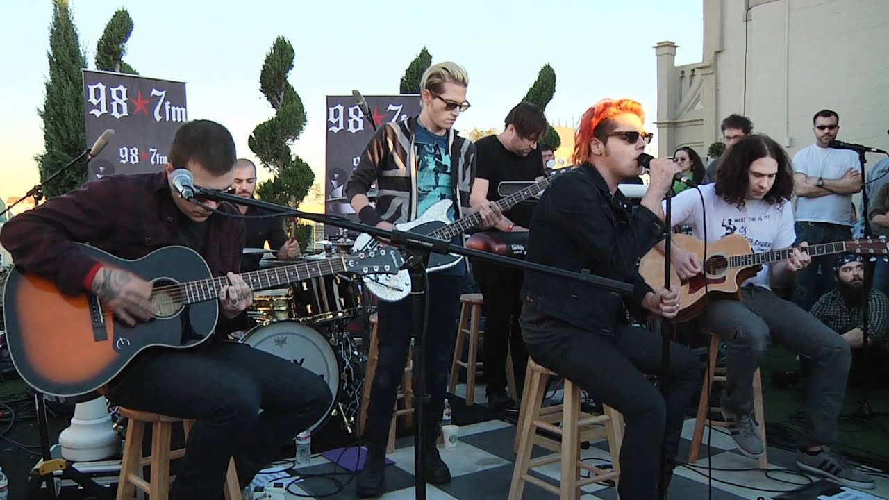 My chemical romance helena live acoustic at 98 7fm penthouse