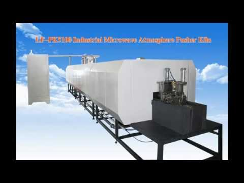LF-PK5100 large Industrial Microwave Pusher Kiln and Microwave kiln Application area