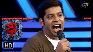 Hemanth Funny Task | Dhee 10 | 2nd August 2017| ETV Telugu