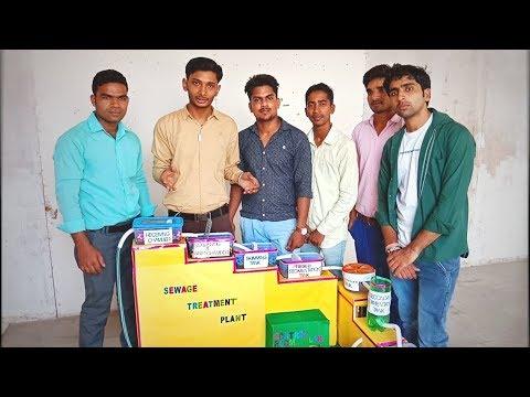 Sewage Treatment Plant | B.tech final year project - in Hindi