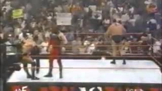 WWF Raw 9 13 1999 The Rock vs  Mankind vs  Paul Wight vs  The Undertaker vs  Kane