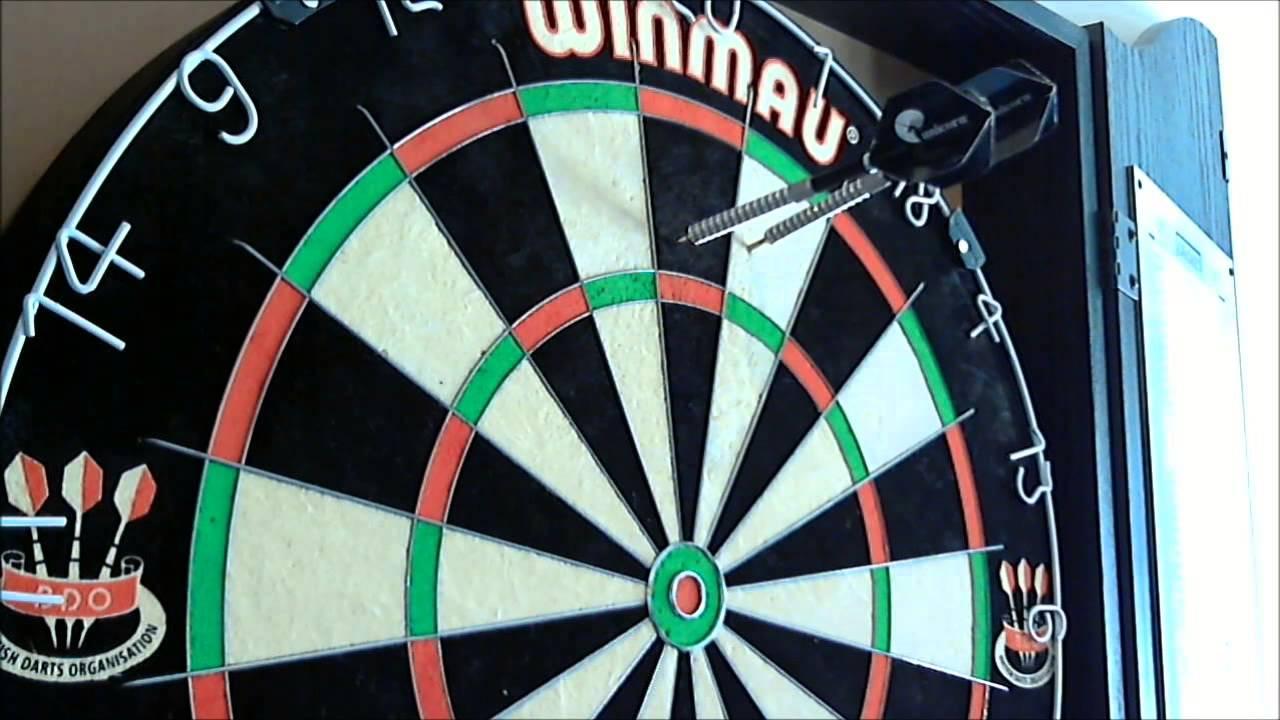 Schmuddel's Warentest: Winmau Blade 4 Dartboard & Surround - YouTube
