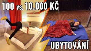 UBYTOVÁNÍ ZA 100 VS. 10.000 KČ - Kdo bude spát pod mostem? 😬