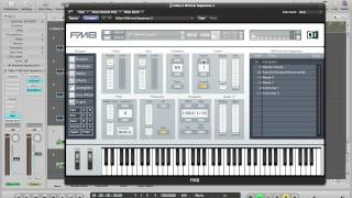 FM8 Video Tutorial - Creating Minimal Synth Sequences In FM8