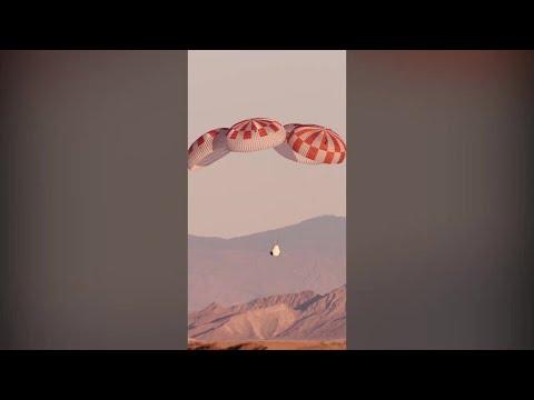 SpaceX Crew Dragon Pad Abort Parachute Test Successful