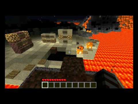 Let´s play Minecraft (CM -Super Hostile - Sea of Flame II ) part 1 - A je to tu zase!