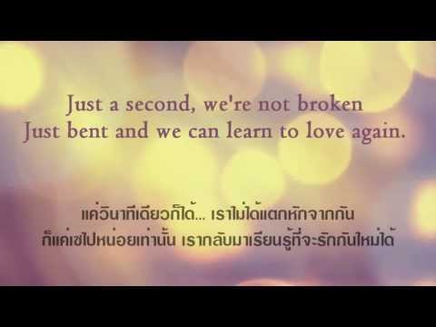 Just Give Me A Reason (lyrics) แปลไทย