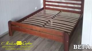 Двуспальные кровати из дерева компании Мебель-Сервис. Обзор и характеристики