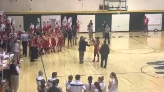 Princeton's Jackie Young breaks the Indiana girls' career scoring record
