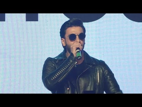 Ranveer Singh's CRAZY Rap Song
