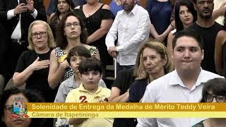 Sessão Solene - Medalha de Mérito Teddy Vieira - 2018