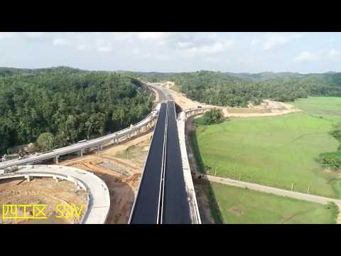 Extension Of Southern Expressway Project Sec-1 Matara To Beliatta Progress At End Of April 2019