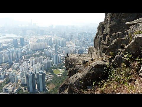 飛鵝山 自殺崖 Suicide Cliff, Kowloon Peak