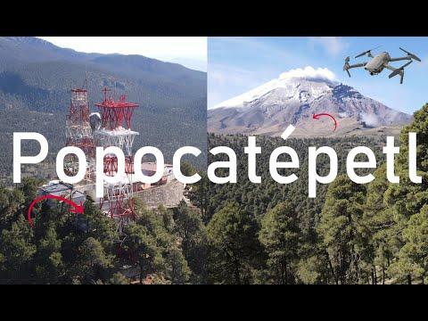 Volcán Popocatépetl - Vuelo dron épico - Parque Nacional Izta-Popo - Paso de Cortés - 18/07/2021