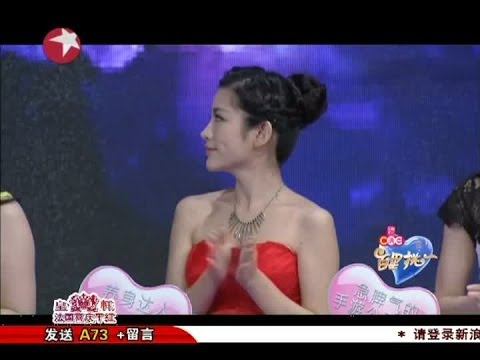 百里挑一Most Popular Dating Show in Shanghai China:袁超深情弹奏演唱找真爱play piano/sing love song 04112014