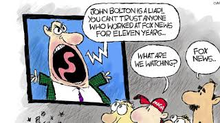 7 brutally funny cartoons about the GOP's John Bolton problem