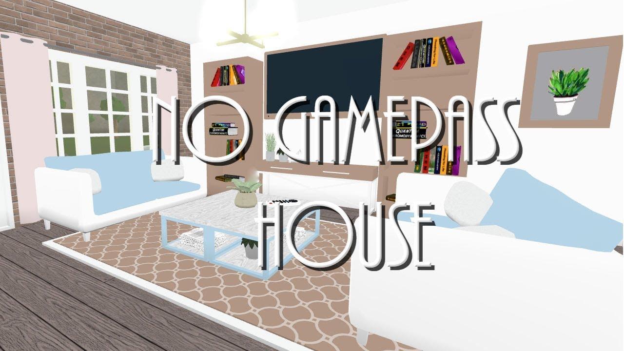 Bloxburg No Gamepass House 59k