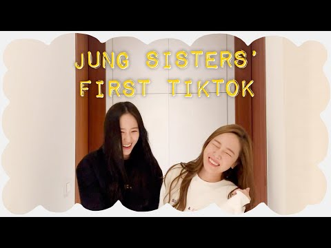 Jung Sisters' First Tiktok