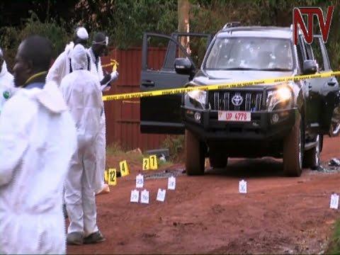 Police spokesperson AIGP Andrew Kaweesi shot in broad daylight