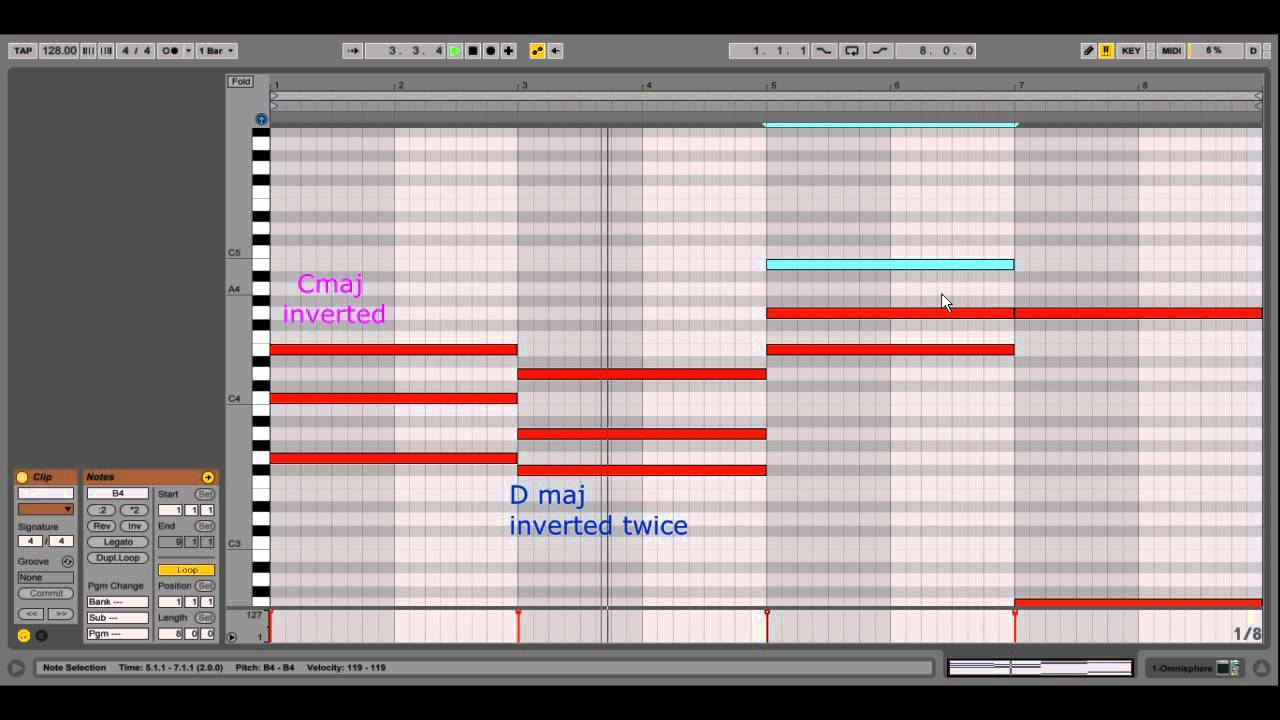 ableton live tutorial trance chord progressions easy youtube. Black Bedroom Furniture Sets. Home Design Ideas