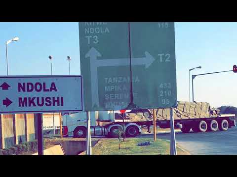 Trip to Zambia (Africa) enjoyed driving from Lusaka to Ndola