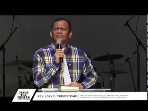 Understanding the anointing of the Holy Spirit | Ptr. Joey Crisostomo