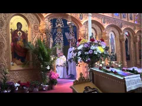 Vaskrs, Easter 2012 St Sava Serbian Orthodox Cathedral, Cleveland, Ohio