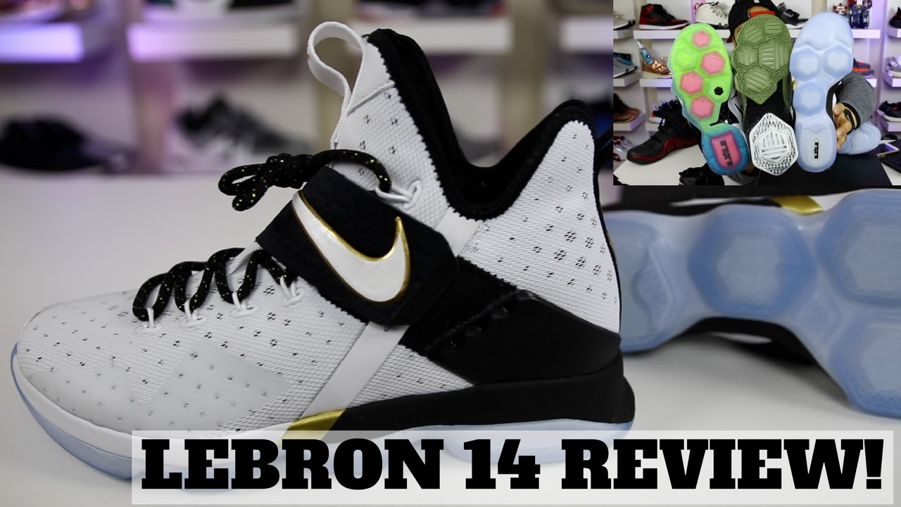 WORTH BUYING  NIKE LEBRON 14 REVIEW W  COMPARISON! - YouTube 0827e28cc
