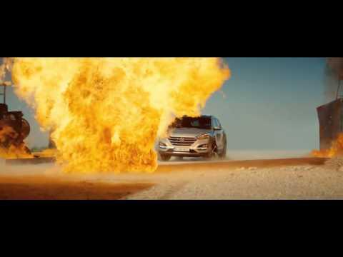 Hyundai Tucson Autowerbung mit Hannah Ware
