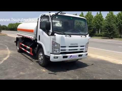 Myanmar best Isuzu oil tank truck for sale