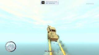 GTA IV: Flying Scooter! (Car Speed Up Mod)