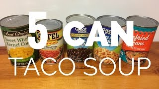 Cheap, easy cold-weather Taco Soup! -$12,256
