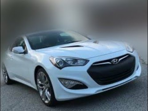 NEW 2018 Hyundai Genesis Coupe 3.8 R Spec 6 Speed Manual 19. NEW  Generations. Will Be Made In 2018.