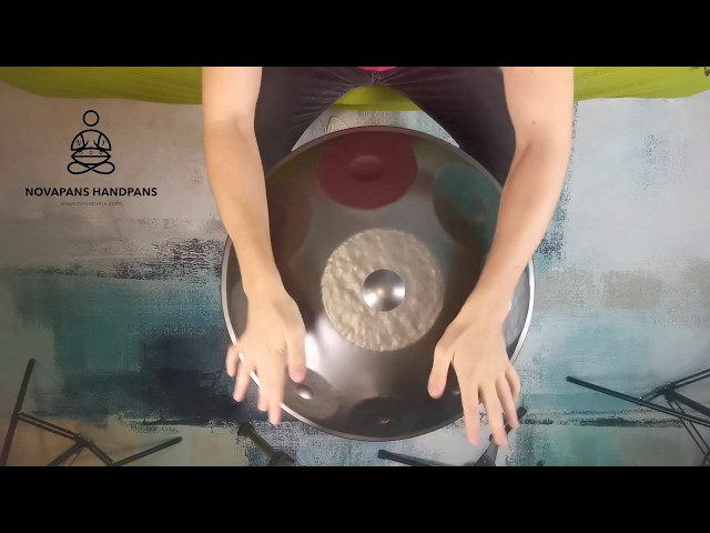 Handpans Players | Novapans Handpans | 9 Note F Hijaz Minor | Generation 1
