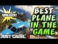 Just Cause 3 BEST PLANE IN THE GAME Unlock Guide
