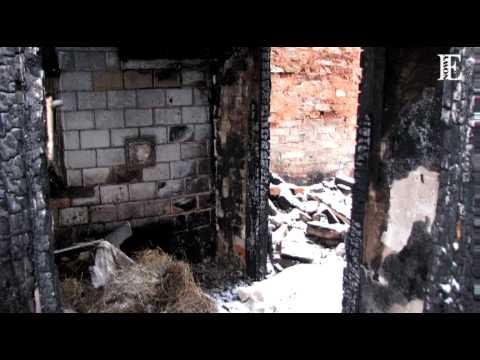 KLAUDIUSZ WESOŁEK - spalony dom (link o aukcji w opisie)