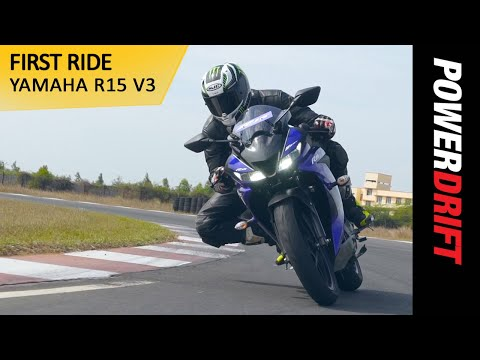 Yamaha R15 V3 : Most powerful 150cc bike in India : PowerDrift