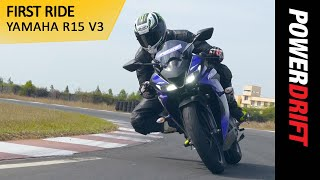 Yamaha R15 V3 : Most powerful 150cc bike in India : PowerDrift