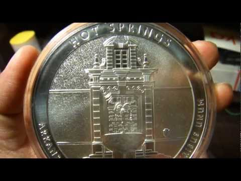 Hot Spring 2010 America The Beautiful Five Ounce Silver Bullion Version