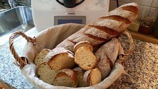 Thermomix® TM5® Baguettes comme chez le boulangerie   französisches Baguette Rezept