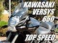 KAWASAKI VERSYS 650 - TOP SPEED (HD)