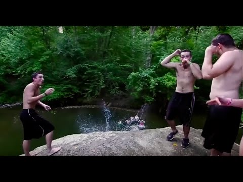 Cliff Jumping -- THE COVE, PA