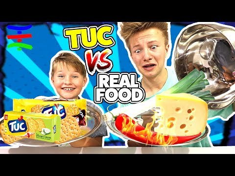 TUC TUC TUC vs REAL FOOD 😁 KRASS TipTapTube (REAL FOOD SPEZIAL)