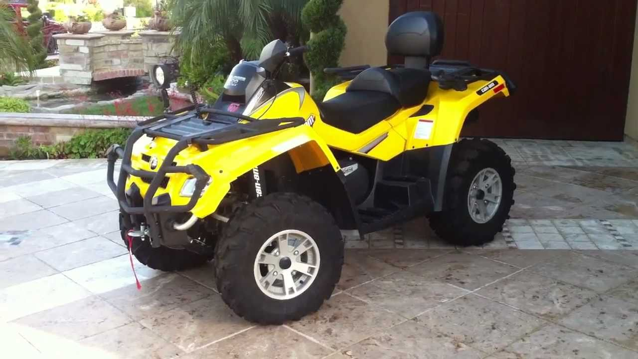 Can Am Outlander 800 >> BEST Can-am Outlander 800 Max XT FOR SALE!!!!!!! - YouTube