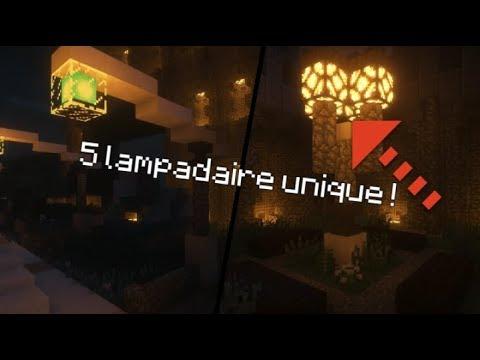 Top 5 Idées De Lampadaire Minecraft