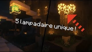 top 5 ides de lampadaire minecraft - Lampadaire Minecraft