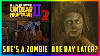 Red Dead Redemption 2 Undead Nightmare Update - NEW FINDINGS! Characters Are Turning Into Zombies!