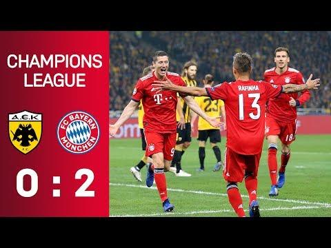 AEK Athen vs FC Bayern München 0:2 |Highlights | Champions League - Matchday 3