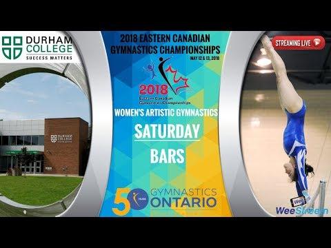 Saturday - Bars - 2018 Eastern Canadian Gymnastics Championships - W.A.G.
